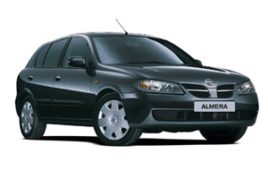 Nissan Almera Хетчбек 5dr