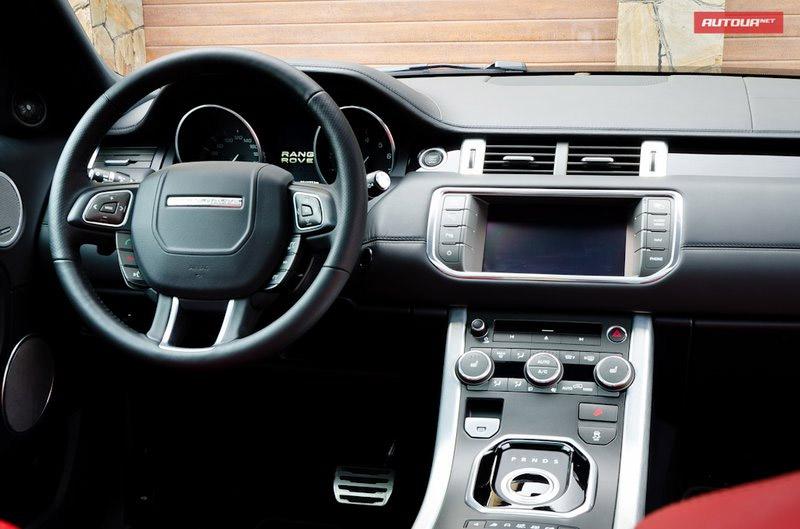Range Rover Evoque (Рендж Ровер Эвок ) 2012 - фото, цена.